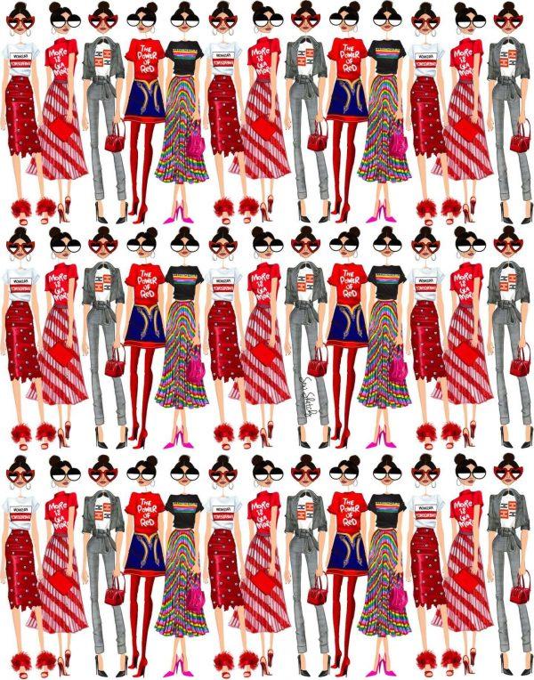 The Drawn Evolution of Giovanna Battaglia