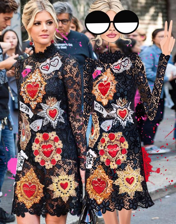 THIS IS HOW YOU SHOW UP TO FASHION WEEK
