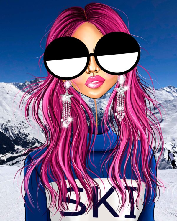 COURCHEVEL LOOKS GREAT ON ME