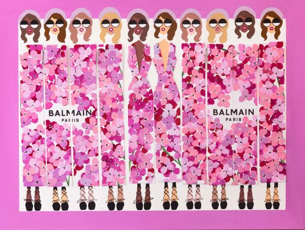 BAG LADY XXI BALMAIN