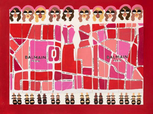 BAG LADY XXIII BALMAIN